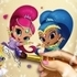 Shimmer and Shine Coloring Book